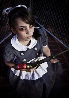 Bioshock- Little sister cosplay