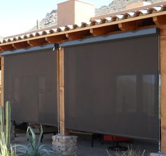 SunTex by #PhiferInc is a strong woven mesh that can block 80-95% of the sun's hot rays before they enter your window. Perfect for outdoor blinds and sun shading applications. SunTex fabrics can be used for your patio, motorized shades, porch shades, window screen or canopy. Reduce bills, save energy and protect your home from UV damage.