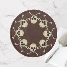 Skull And Crossbones Cake Stand