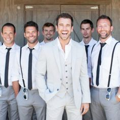 nice 65 Elegant Groom and Groomsmen Wedding Photo You Must Have  https://viscawedding.com/2017/04/24/elegant-groom-groomsmen-wedding-photo-must/