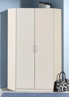 Eckkleiderschrank Kleiderschrank Weiß 5733. Buy now at https://www.moebel-wohnbar.de/eckkleiderschrank-sprint-schlafzimmerschrank-kleiderschrank-weiss-5733.html