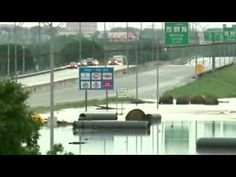 US weather Floods 'largest in region's history' BBC News - YouTube