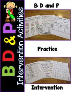 Do your students have b and d confusion? This pack has 10 differentiated activities to help your students at different levels. It has over 50 pages of fun and engaging activities. These B D and P confusion activities will help struggling readers in a fun and engaging way. I use these with dysle...
