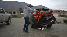 Take Your Best Friend with MotoTote Your Best Friend, Best Friends, Motorcycle, Gallery, Beat Friends, Bestfriends, Roof Rack, Motorcycles, Motorbikes