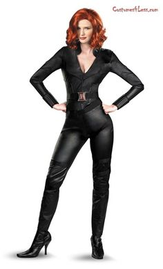 The Avengers Black Widow Deluxe Adult Costume at Costumes4Less.com