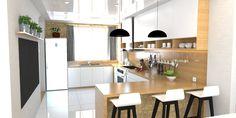 Kuchyňa do U Living Room Interior, Interior Design Living Room, Design Trends, Bedroom, Kitchen, Table, Inspiration, Furniture, Home Decor