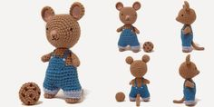"i crochet things: Pattern: ""If You Give a Mouse a Cookie"" Amigurumi"