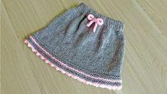 How to Make Knitting Skirt Baby Knitting Patterns, Knitting Yarn, Free Knitting, Crochet Patterns, Baby Girl Skirts, Baby Skirt, Knitted Christmas Jumpers, Christmas Knitting, Knitting For Charity
