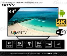 Tv Led Sony 49″ Smart 4k Android