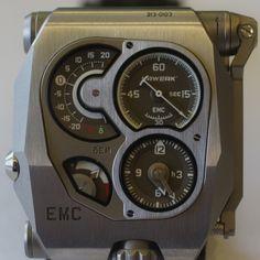 "Urwerk EMC - the first mechanical ""smart"" watch"