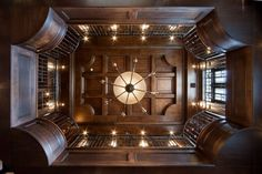 coffered ceilings are so awesome!!