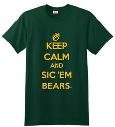 STG | Keep Calm and Sic 'Em - Ahhh I want this!