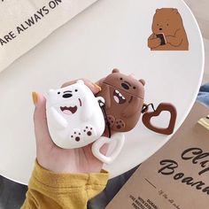Cute Ipod Cases, Iphone Cases, Cute Headphones, Earphone Case, Air Pods, We Bare Bears, Airpod Case, Iphone Accessories, Apple Products