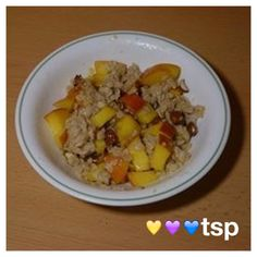 Di's Food Diary 21 Day Fix Approved Breakfast Recipe = Peach Almond Oatmeal Diet Snacks, Easy Healthy Dinners, Healthy Snacks For Kids, 21 Day Fix Breakfast, Breakfast Recipes, Diet Recipes, Healthy Recipes, Clean Eating, Healthy Eating