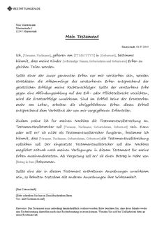 Berliner Testament Muster Verbraucherzentrale 2021 6