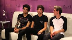 One Direction Glamour Interview at the Global Launch of YOU & I fragrance
