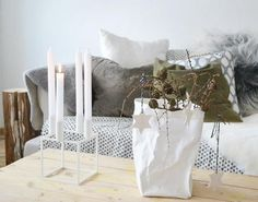 advent candles  JUL I VÅRT HUS » Norske interiørblogger