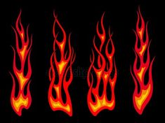 Set Of Long Tribal Fire Flames For Tattoo Drawing Stock Photo Drawing Flames, Flame Picture, Wedding Band Tattoo, Wedding Bands, Flame Tattoos, Motorcycle Paint Jobs, Long Pictures, Fire Tattoo, Tattoo Project