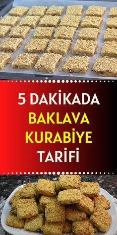 Turkish Recipes, Turkish Delight, Food Art, Almond, Food And Drink, Cookies, Breakfast, Recipes, Bakken