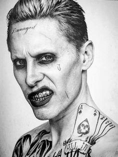 The Joker #Suicide_Squad Más