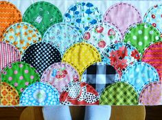 Molly Flanders: {Clam}Shell Game....My quilting buddies might die if I showed them this as my next quilt :)