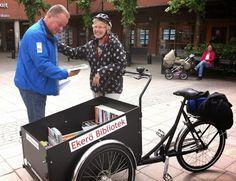 Mobile library near Stockholm  #together    http://bibliotek.ekero.se/102507/sv/news/hall-utkik-efter-bokcykeln-i-sommar