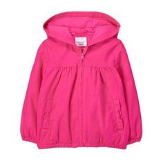 Toddler Girl Magic Magenta Everyday Jacket by Gymboree Toddler Outfits, Kids Outfits, Toddler Girls, Infant Toddler, Utility Jacket, Gymboree, Types Of Fashion Styles, Outerwear Jackets, Hooded Jacket