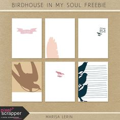 FREE Bird House in My Soul by Marisa Lerin [ PS May 2015 Blog Train ]