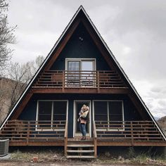 A-Frame Haus (Heber City, UT)   Snuggle up and enjoy the surrounding scenery at one of these cabin Airbnbs Cozy Cottage, Cozy Cabin, Living Area, Heber City, Heber Utah, A Frame Cabin, A Frame House, Cabin Design, House Design