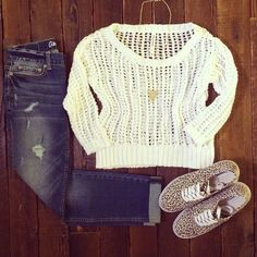 Cute Aeropostale outfit... Love the shoes