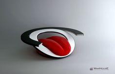 La silla banana, el sofá lengua y la mesa huevo..