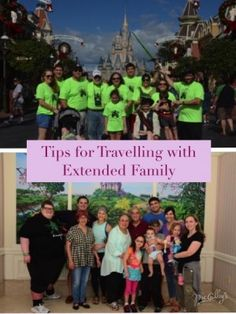 5 Tips for Taking a an Extended Family Trip To Disney