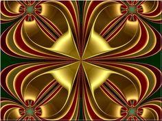 holiday fractal art