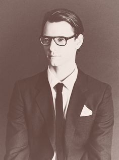 Harry Lloyd. Wow. Looks like a young Yves Saint Laurent