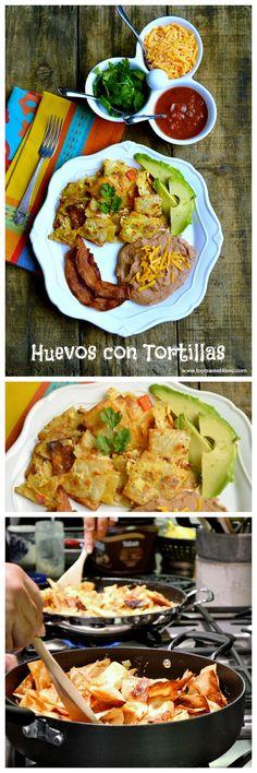 Huevos con Tortillas collage