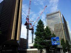 Mitsui sumitomo banking building (under construction)