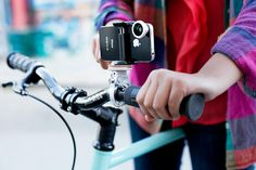 Photojojo's iPhone Bikepod mount; we've always thought this should be invented for those non-GoPro bikers out there!