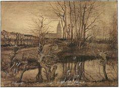 The Kingfisher  - Vincent van Gogh