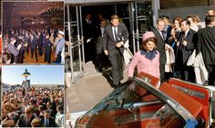November 22, 1963. Just moments before the assassination of U.S. President John F. Kennedy in Dallas, Texas.