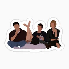 Tv: Friends, Friends Tv Quotes, Friends Scenes, Friends Moments, I Love My Friends, Friends Tv Show, Friends Forever, Band Stickers, Planner Stickers