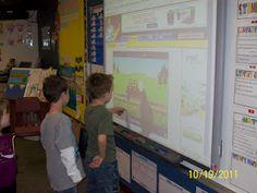 What I Learned in Kindergarten: Literacy Centers: Smartboard