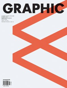 Karel Martens - Cover of the Korean graphic design magazine GRAPHIC, whose ninth issue was dedicated to Werkplaats Typografie.