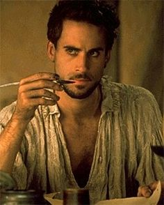 Joseph Fiennes............. sigh.........the fact that he's Shakespeare here is just the icing on the cake.
