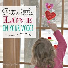 """Do you snap at your kids? Get impatient? Here's an encouraging solution. """"Put a Little Love In Your Voice"""" from Time Out with Becky Kopitzke - Christian devotions, encouragement and advice for moms and wives."""