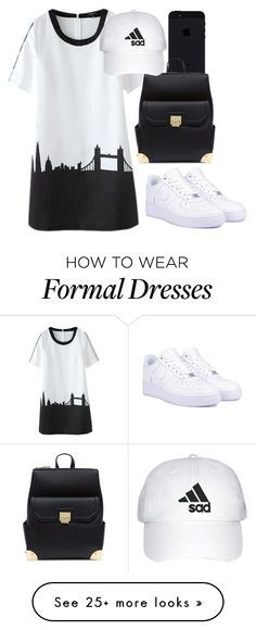 """Sad."" by veronica-jasmine on Polyvore featuring NIKE"