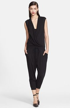 e97099a3fdf Helmut Lang Wrap Top Jersey Jumpsuit available at  Nordstrom Designer  Jumpsuits
