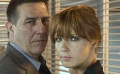 Above Suspicion is a British TV series based on Lynda La Plante's novels Above Suspicion, The Red Dahlia, Deadly Intent and Silent Scream. It stars Kelly Reilly and Ciarán Hinds. It features the career of La Plante's latest heroine DC Anna Travis.