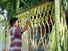 kerala wedding entrance banana and coconut decoration - Google Search