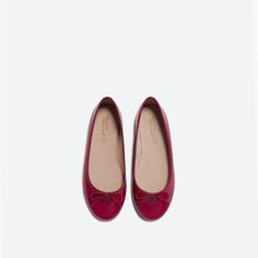 ZARA - COLLECTION AW15 - PATENT BALLET FLATS
