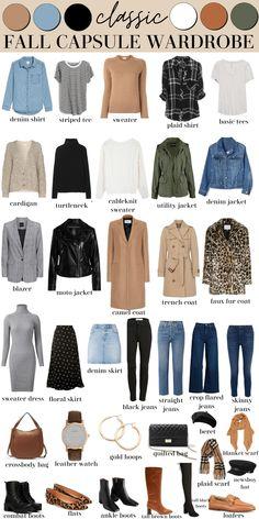 Capsule Outfits, Fall Capsule Wardrobe, Fashion Capsule, Fall Fashion Outfits, Casual Fall Outfits, Mode Outfits, Look Fashion, Winter Fashion, Womens Fashion